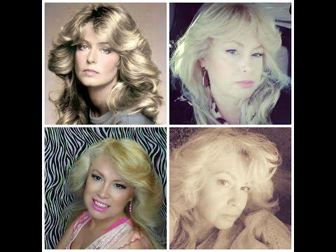Farrah Fawcett Corte y peinado