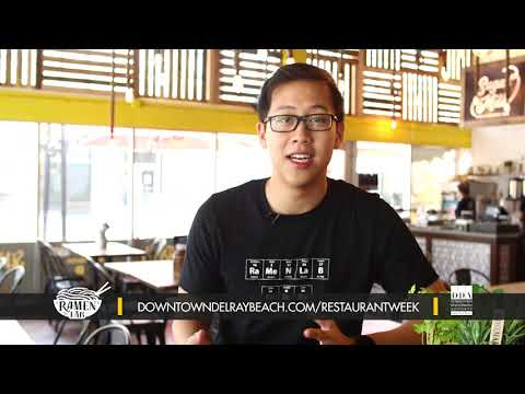 Ramen Lab - Dine Out Downtown Delray Restaurant Week 2019