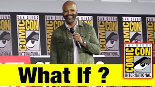 WHAT IF? | 2019 Marvel Comic Con Panel (Jeffrey Wright)