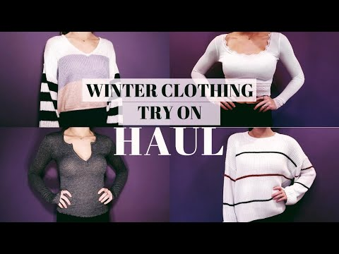 WINTER CLOTHING TRY ON HAUL: urban, revolve, tobi, h&m