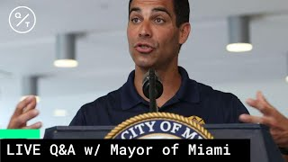 Mayor Of Miami Reacts To Surge In Covid 19 Cases In Florida