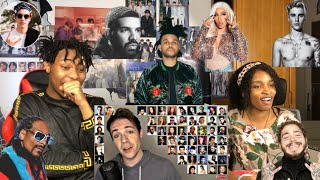 ONE GUY,54 VOICES(with music)Drake,TØP, P!ATD, Puth  Famous Singer Impressions{REACTION}|T&L REACTS