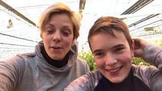 Spreekbeurt van Jens -  op de gerberakwekerij
