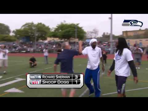 Richard Sherman vs Snoop Dogg