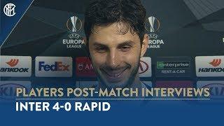 INTER 4-0 RAPID | ANDREA RANOCCHIA INTERVIEW: