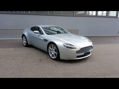 Aston Martin V8 Vantage Start Up Revs Exhaust Sound Youtube