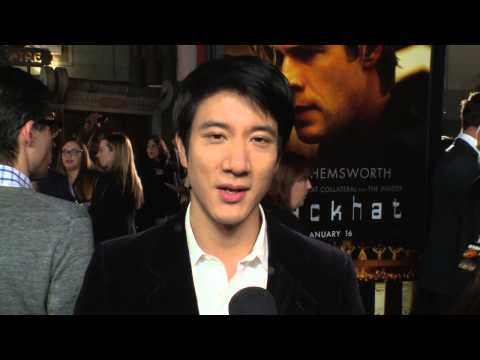 Blackhat: Lee-hom Wang Red Carpet Movie Premiere Interview