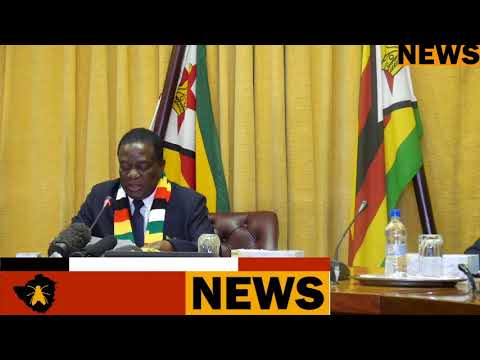President  Mnangagwa's announces the commission members to investigate August 1 violence