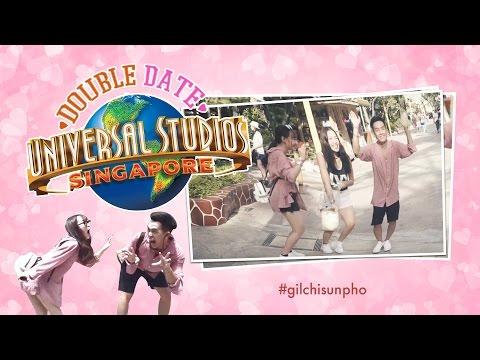 [PHO GO] 1 ngày tại Universal Studio Singapore ( Gil Le, Chi Pu, Pho , Sun)