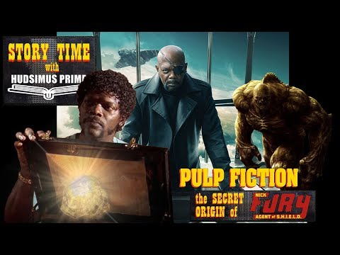 PULP FICTION : The SECRET ORIGIN Of NICK FURY : First Marvel MCU Movie