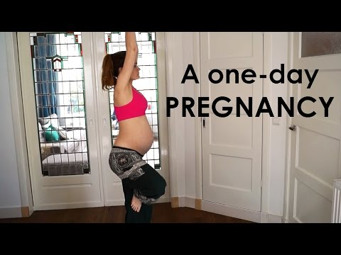 A One-Day Pregnancy – 9 Months in 1 Continuous Shot!