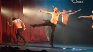 В Сланцах театр танца «Искушение» показал уникальный проект «Под дождем»