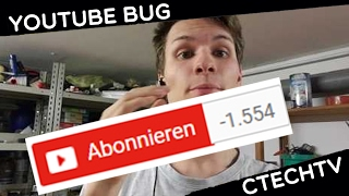 YouTube löscht Abonnenten!! Wie funktioniert der Bug / Shortnews