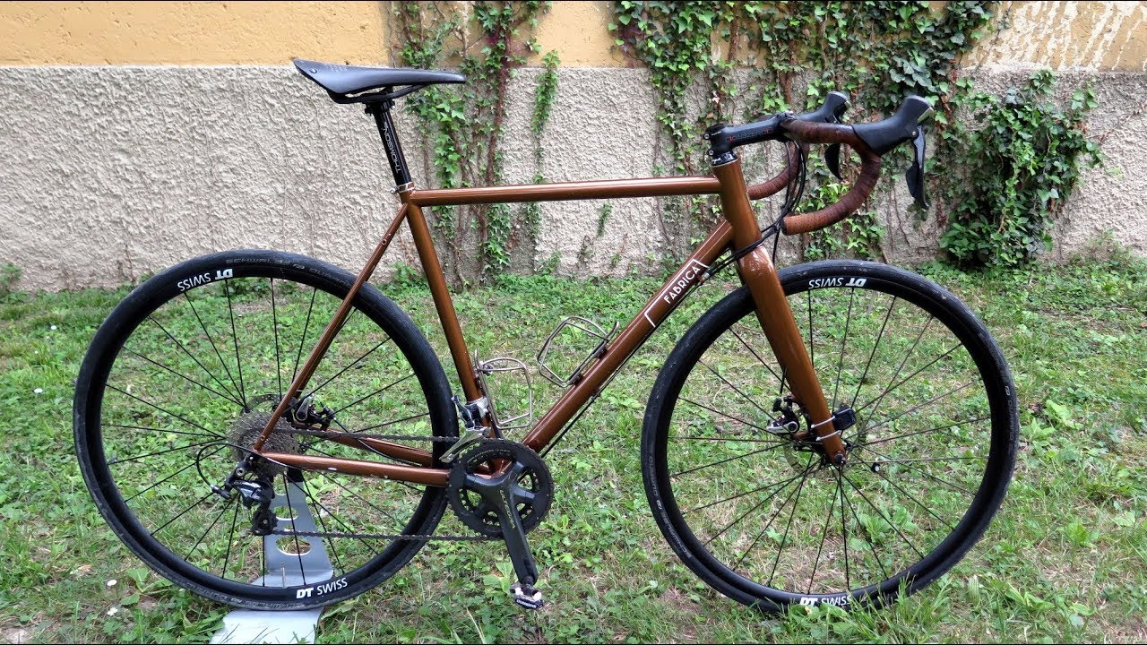 Fabrica Cycles All Road La Bici Gravel In Acciaio Made In Italy