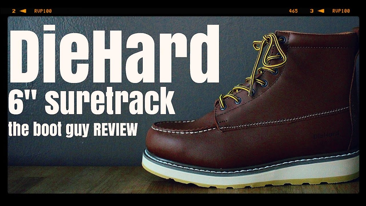 Sears Diehard Mens Suretrack 6 The Boot Guy Review Youtube