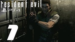 Resident Evil HD Remaster (PS4) - Chris Walkthrough Part 1 - Enter The Survival Horror