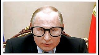 Путин и очки, басня