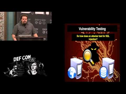 DEF CON 23 - Nemus - Hacking SQL Injection for Remote Code Execution on a LAMP Stack