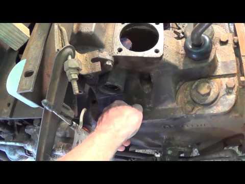 Massey Ferguson 35 Steering Box Removal Part 2