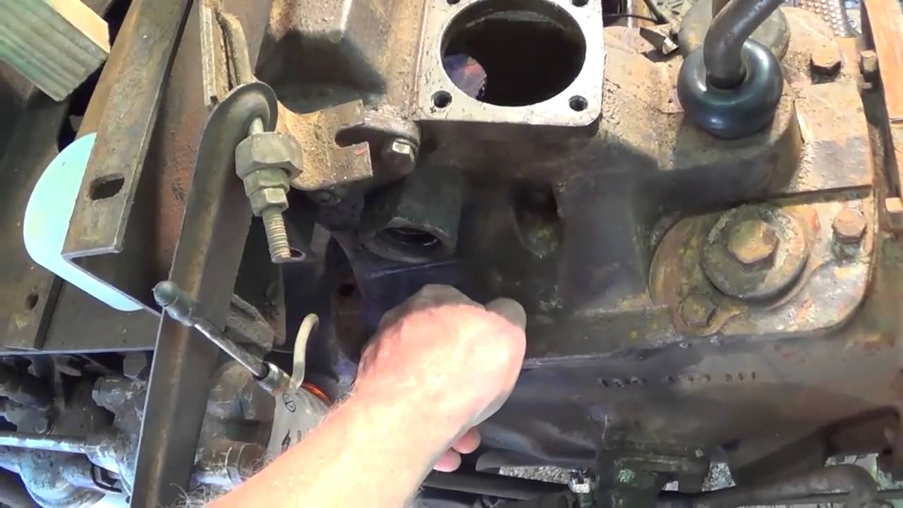 Massey ferguson steering box removal part youtube