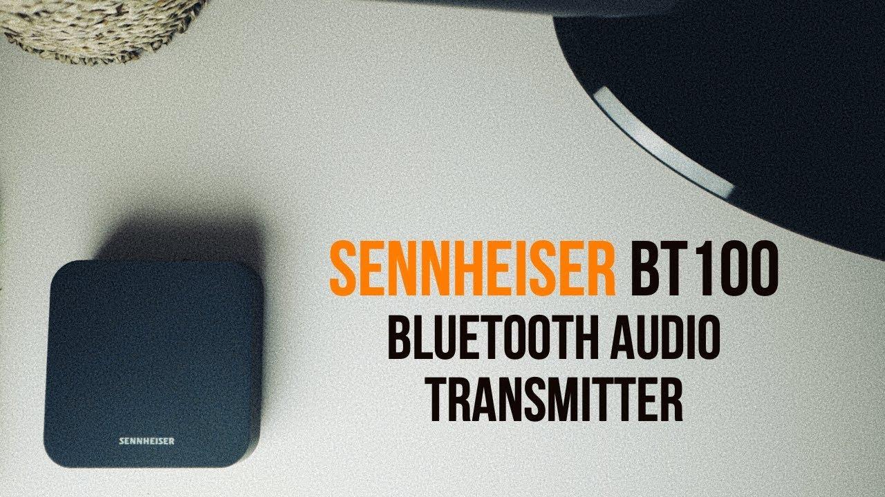 Обзор Sennheiser BT T100 | Подключаем Bluetooth наушники к старому телевизору