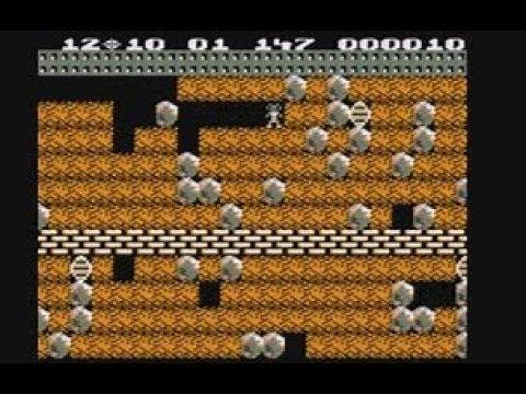 Boulder Dash Comparison - BBC Micro - Amstrad CPC - C64 - ZX Spectrum