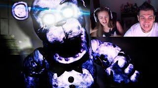 Eu e Duda Morremos com Five Nights At Freddy's Reborn (FACECAM) thumbnail