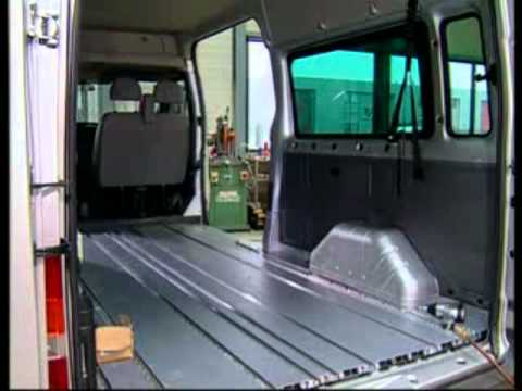 Ford Transit Van >> SMARTFLOOR DEUTSCH - YouTube
