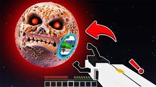 KIZ POLİS KORKUNÇ AY'A SAKIN PORTAL AÇMASIN! 😱 - Minecraft