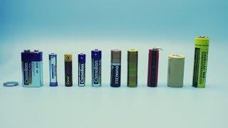 Ток КОРОТКОГО ЗАМЫКАНИЯ. Тестируем разные батарейки.