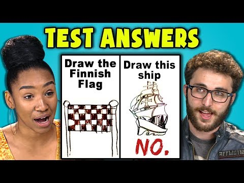 TEENS READ 10 FUNNY TEST ANSWERS #2 (REACT)