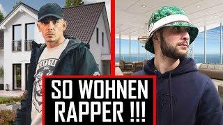 🔴 Die Häuser & Wohnungen der Rapper | Top 5 🔴 Capital Bra, Bonez MC, Luciano