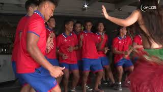 Football championship welcome brings excitement for Pacific teams in Rarotonga thumbnail