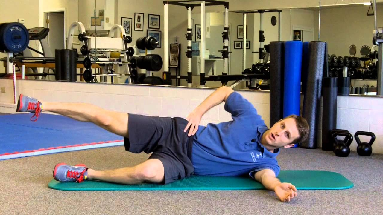 Gluteus medius exercise for knee, hip and low back issues ...