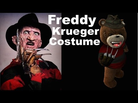 Naughty Bear: Panic in Paradise -  Freddy Krueger Costume