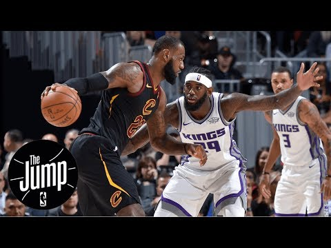 LeBron James calls final play; step-back unguardable? | The Jump | ESPN