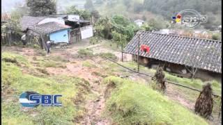 En Riesgo Familias de Jilotepec por Deslizamiento de Cerro 23 10 14