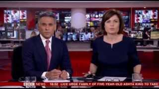 BBC News channel bids farewell to Matthew Amroliwala