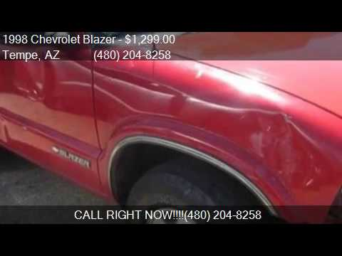1998 Chevrolet Blazer LS 2dr 4WD SUV for sale in Tempe, AZ 8