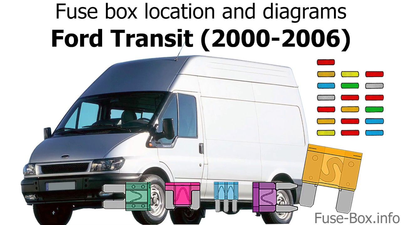Fuse Box Location And Diagrams  Ford Transit  2000
