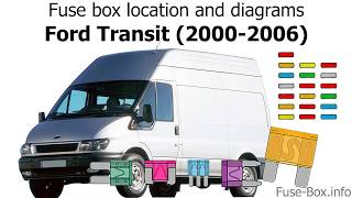 [SCHEMATICS_44OR]  Fuse box location and diagrams: Ford Transit (2000-2006) - YouTube | Ford Transit Fuse Box Layout 2001 |  | YouTube