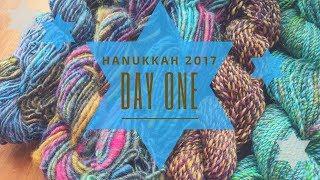 Combed Top & Batt Autumnal Mashup: Hanukkah 2017 Day One