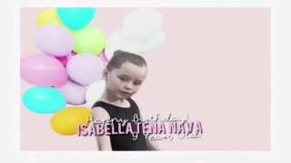 Feliz Cumpleaños'!|ISABELLA TENA|9 Años'