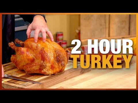 Rach's Secret For Cooking Your Turkey in Only TWO Hours | Rachael Ray Show