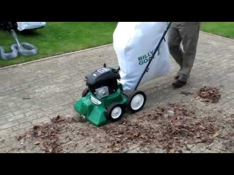 Bon Billy Goat LB351 Patio Vacuum At UK Mowers Direct   YouTube