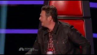 The Voice Usa Blake Speech NASHVILLE