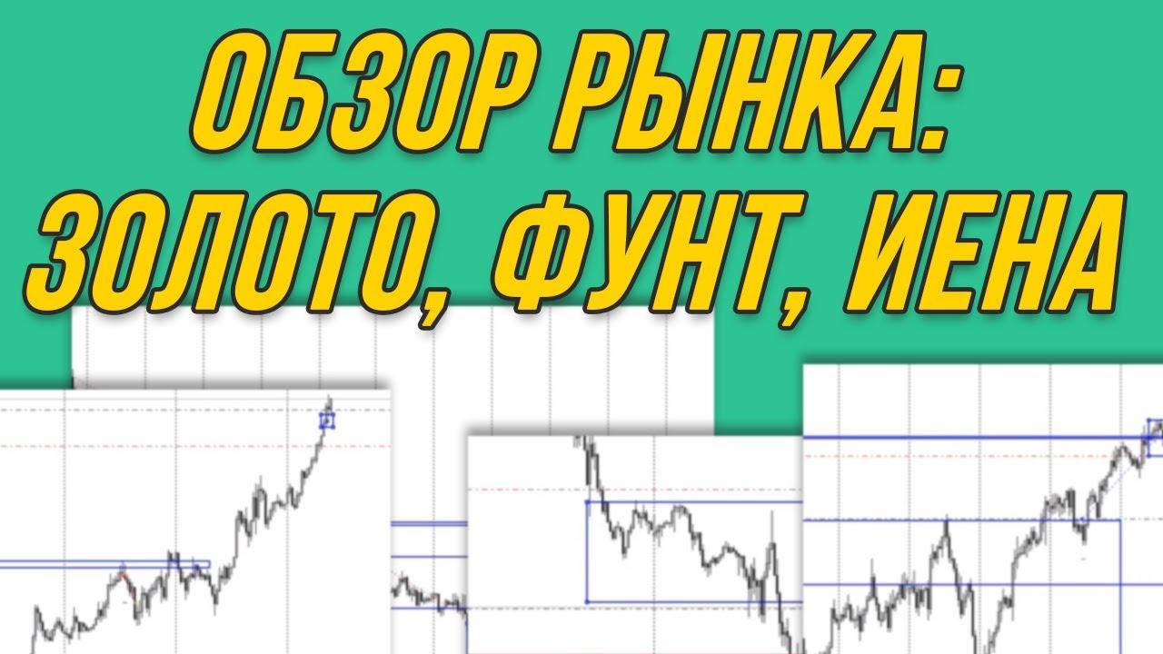 Обзор рынка Форекс: золото, фунт, иена | Трейдер Максим Михайлов