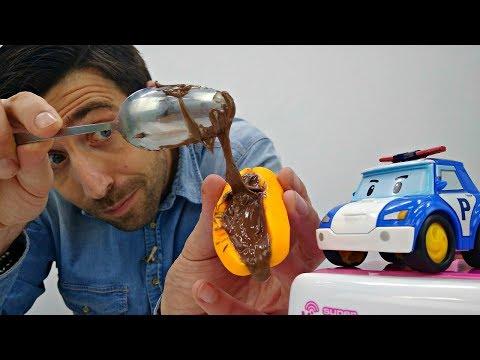 Le Jardin d'enfants № 2 : les Robocars. Vidéo en français pour enfants