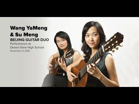 Beijing Guitar Duo at Desert View High School