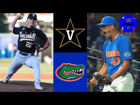 Download #2 Vanderbilt v #14 Florida Highlights (Leiter v Mace, Crazy Game)   2021 College Baseball Highlight
